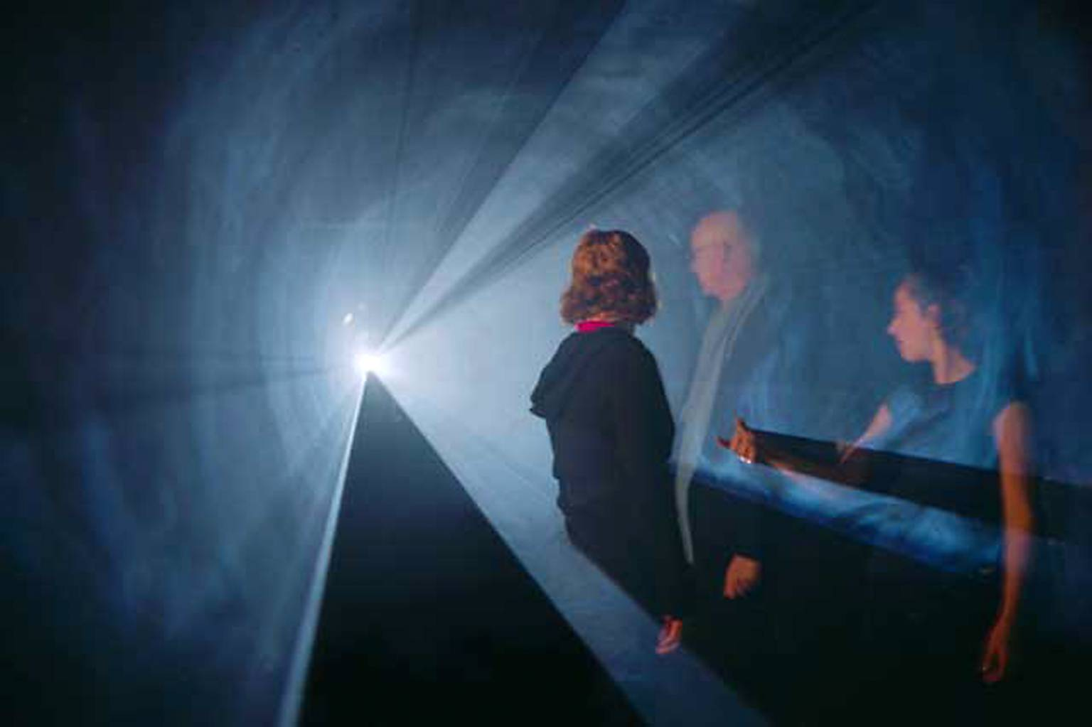 Line Describing a Cone 1973 by Anthony McCall born 1946