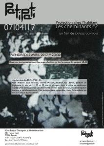 flyer Les cheminants#2