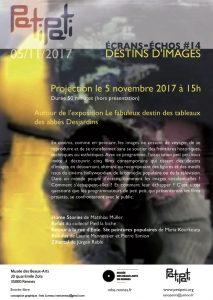 flyer PetiPeti Destins d'imagesDEF